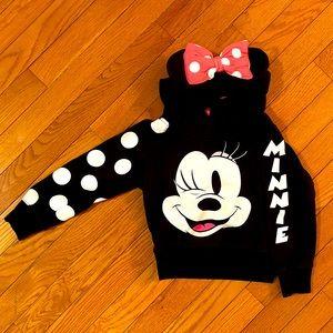 Disney Minnie Mouse Hoodie Sweatshirt